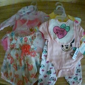 0-3 Baby Girls Outfits